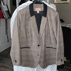 Size24 Multi colored blazer w blue accents by H&M